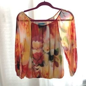 Alice and Olivia Off The Shoulder Blouse
